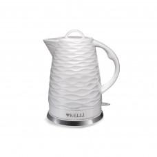 Чайник керамический Kelli KL-1459 Белый