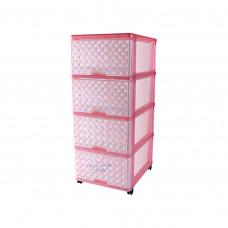 Комод DDStyle 04044 Розовый