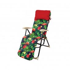 Кресло-шезлонг Nika HHK5/F Принт с фламинго