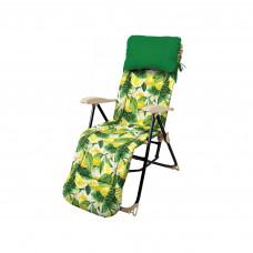 Кресло-шезлонг Nika HHK5/L Принт с лимонами