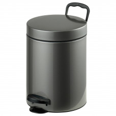 Ведро для мусора Axentia нержавеющая сталь 5 л