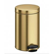 Ведро для мусора Meliconi золото 14 л