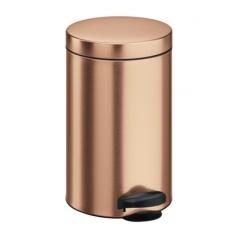 Ведро для мусора Meliconi медь 14 л
