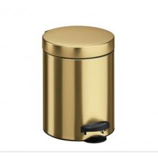 Ведро для мусора Meliconi золото 5 л